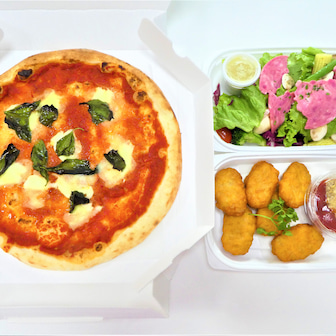 ピザや5種盛り前菜が美味しい♪~北千住 ビストロ オオカミ