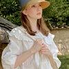 【WHITE SANDS】ソリッド ブランチ サンキャップの画像