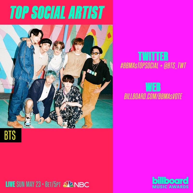 アワード 投票 ミュージック 【2021ビルボード・ミュージック・アワード】ファイナリスト発表 #BBMAs(Billboard