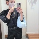 マスクをポイントしたい!!!/3か月前と今の体型の比較に驚愕!の記事画像