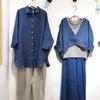 新色「青藍」のコーデを楽しむ 鎌倉店の画像