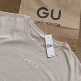 GU 見つけた瞬間に買うと決めた新作Tシャツ♡の記事画像