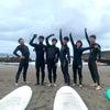 偶然の良い波貸し切りタイム♫雨でもへっちゃらサーフィンでーす!の画像