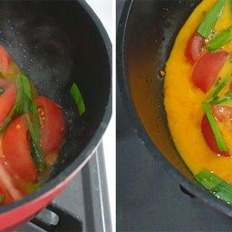 画像 だしがきいて絶品!トマトとニラのふわとろ卵とじ炒め の記事より 11つ目