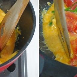 画像 だしがきいて絶品!トマトとニラのふわとろ卵とじ炒め の記事より 12つ目