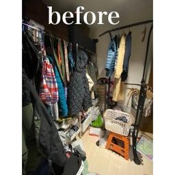 画像 【BEFORE】暗い物置部屋→明るいクローゼットルームへ♪【AFTER】 の記事より 4つ目