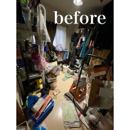 画像 【BEFORE】暗い物置部屋→明るいクローゼットルームへ♪【AFTER】 の記事より 2つ目