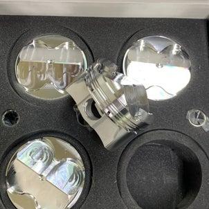 K20A用超軽量鍛造ピストン到着、FD2、マフラーECUインプレ頂きました♫の画像