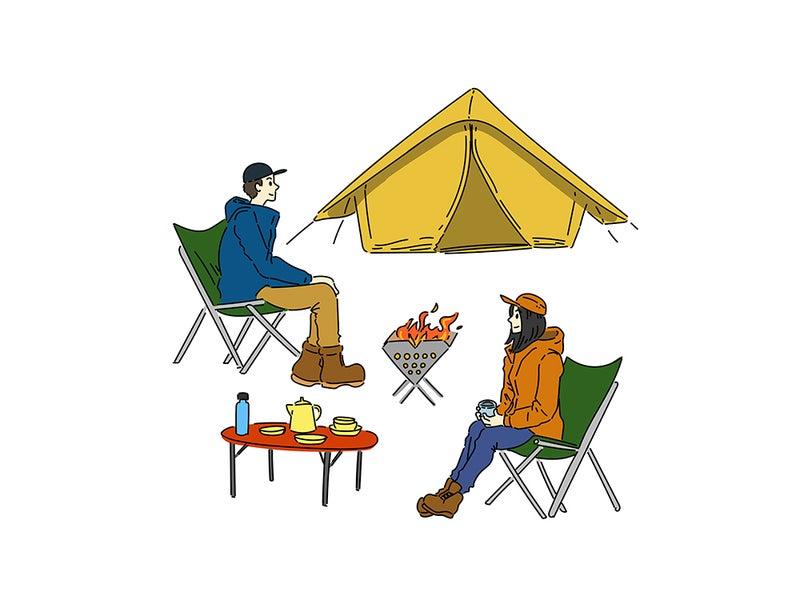 趣味のキャンプ