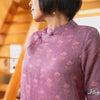 【ラミーリネンのチャイナドレス】涼しさ満点ですよ~。の画像