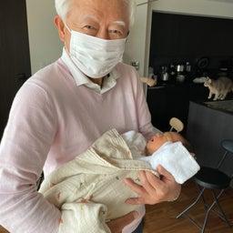 画像 父様お母さんとももたろくん初対面!!! の記事より 10つ目