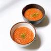 【おうちごはん】ぶんぶんチョッパーで新玉ねぎと完熟トマトのガスパチョの画像