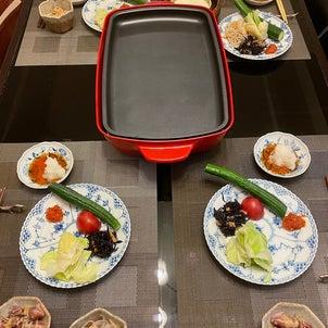 昨日の晩ご飯の画像