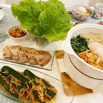 韓国料理deさとちゃん家の晩御飯♪