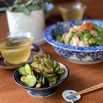 清涼感漂う、夏野菜の作り置き「夏野菜の柚子胡椒漬け」