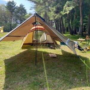 天気が良いから今日はキャンプだの画像