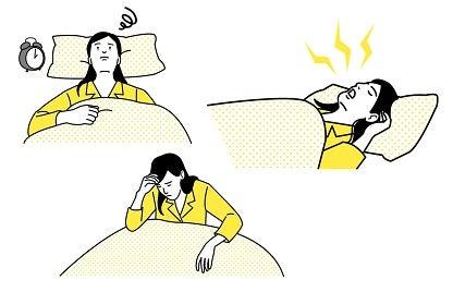 睡眠障害・睡眠
