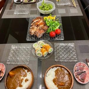 今日の晩ご飯の画像