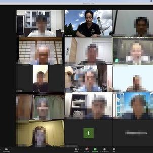 木曜日その2 西日本歯内療法学会役員会 by Zoomの画像