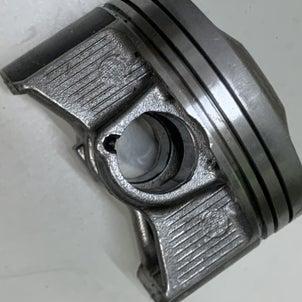 FD2,70パイワンオフマフラー制作、いぃ足してるぅ♡、これを見たアナタはピストン変えたくなるwの画像