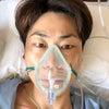 扁桃腺摘出手術入院3日目の画像