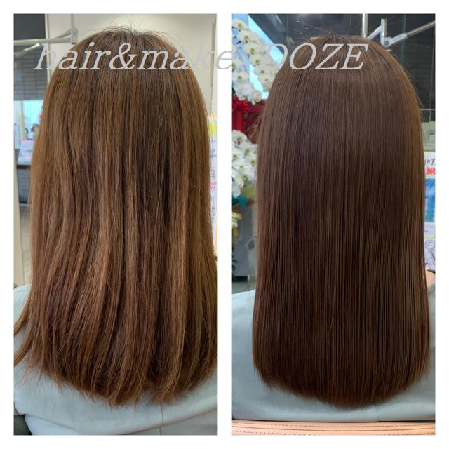様々な理由で髪質改善プレミアムトリートメントだけにご来店!