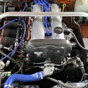 NA8 4スロフルチューン車両 ハルテック エリート750にて制御化、クランク角センサー適正化の画像