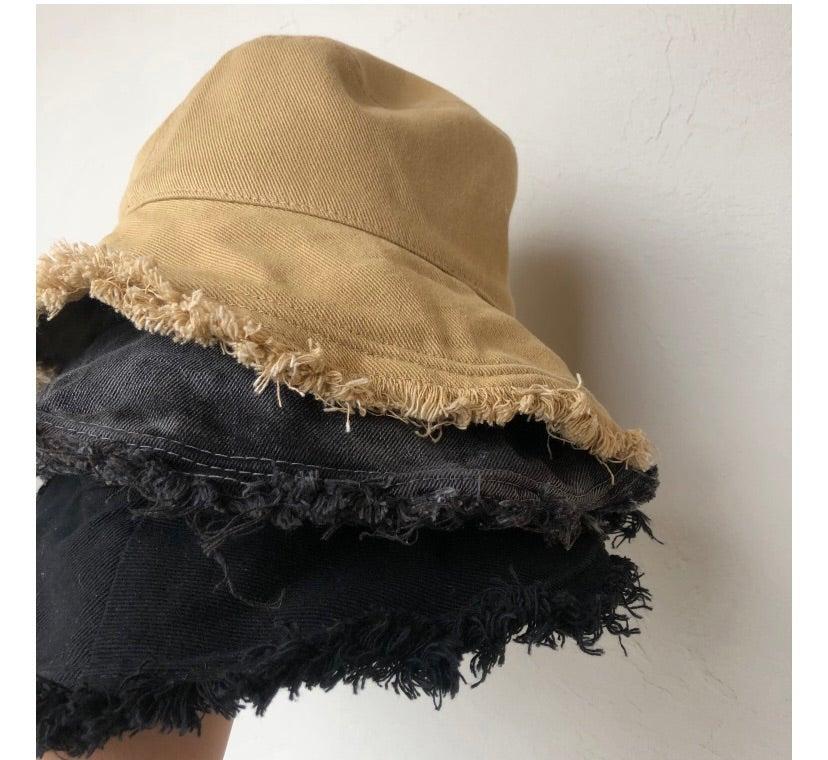「imu」damage bucket hat 再入荷!!