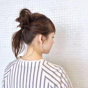 起きてそのままヘアアレンジ hair arrange & hair setの画像