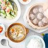 【まとめ買い・献立】5/28しゅうまい・大根と牛肉のスープ(レシピあり)の画像