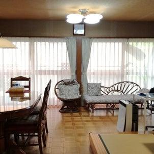 サンゲツの生地でソファー張替えしリビングの改装完了!の画像