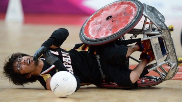 車椅子ラグビー