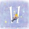6月の数字メッセージ☆の画像