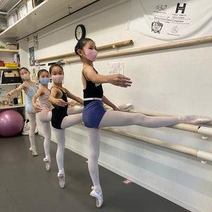 初Pointeレッスン&DUEさん【Ballet & Dance UNO・DUE・TRE】の画像