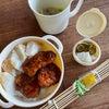 チキンカツ弁当と豚バラ肉黒酢あんの画像