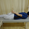疾患学習と保存療法 「膝痛改善セルフエクササイズ」【1】ストレッチの画像