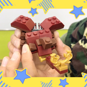 ブロックの日~昆虫を作ろう!~の画像