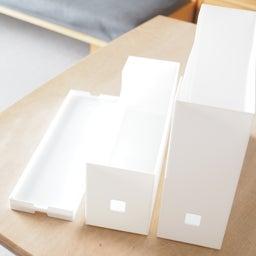 画像 セリアに新作ボックスが登場!スクエアBOXフタ付検証レポ & フタ付きボックス総復習 の記事より 21つ目