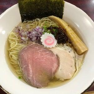 【鶴岡市本町】鶏料理 慶さんの塩らぁ麺の画像