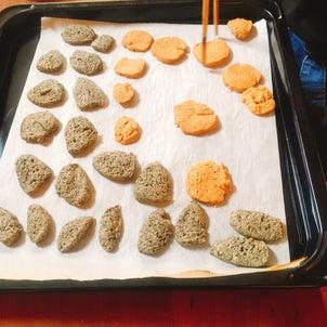 """""""まごわやさしい""""手作りクッキーの画像"""