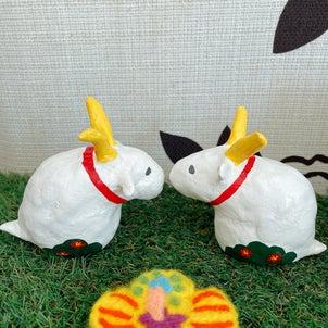 琉球かふう人形ヤギさん達が新入荷の画像
