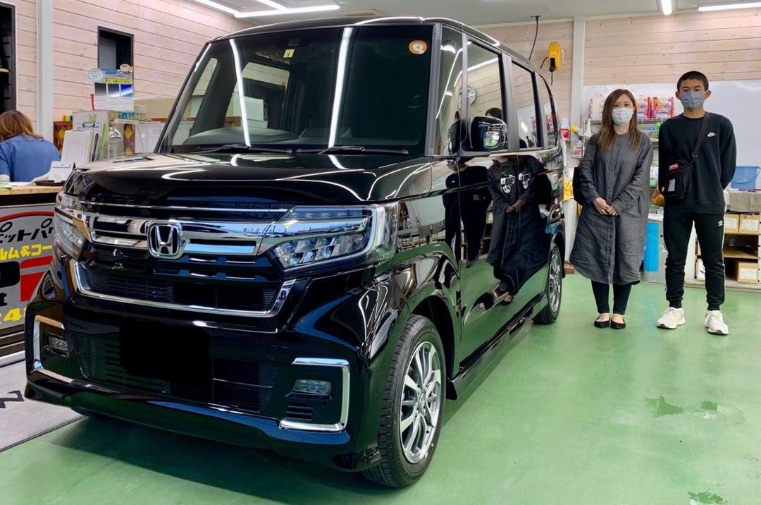 HONDA N-BOX新車 リアルガラスコートclassH施工