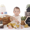【お写真紹介】Sくん1歳のバースデーフォトの画像