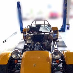 セブン1700スーパースプリント・エンジンオイル交換の画像