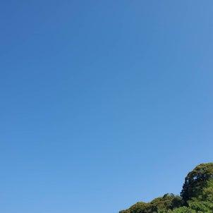 おはようございます!!!!すんばらしい青空な朝ですね..今日からまた『はじまる私』...の画像