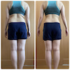 ダイエットサポート1ヶ月の結果発表の画像