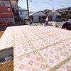 海老名市新築現場 土台敷きの画像