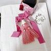 *  Tassel Making *    〜 シャンドフルール 〜  まずはピンクで♪の画像