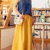 【天然素材の服】イエローで元気になりたい。の画像