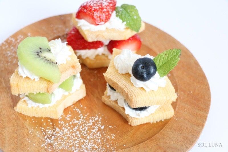 【超・簡単!パーティースイーツ♡】バームクーヘンケーキにチャレンジ♡♡